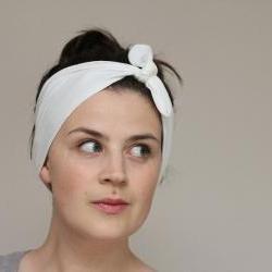 Knot Tie Turban Headband – Jersey Headscarf
