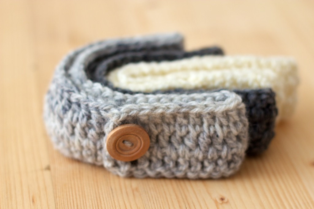 Girls Crochet Headband For Babies Or Girls In Cream On Luulla